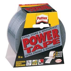 Selotejp 50mmx10m Power Tape Henkel,srebrni