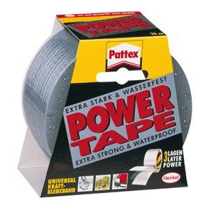 Selotejp 50mmx25m Power Tape Henkel,srebrni