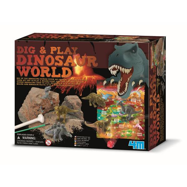 Dinosaurske avanture 4M