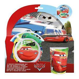 Set za jelo i piće zdjelica/šalica/tanjur Cars 637067