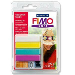 Set za modeliranje Fimo soft Exotic Staedtler blister