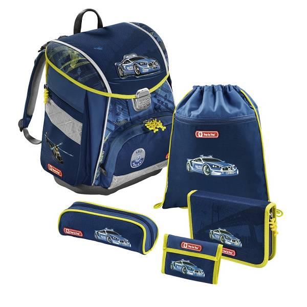 Školska anatomska torba City Police Hama 5u1 138492