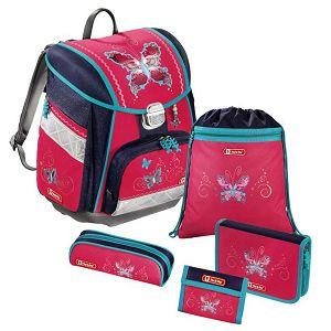 Školska anatomska torba Hama Step by step 5u1 Butterfly Dancer