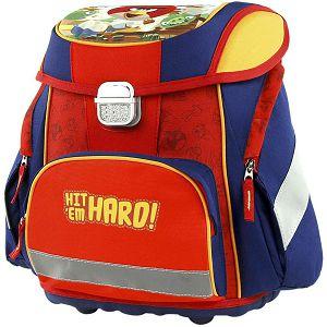 Školska torba anatomska Angry Birds 17543 Target crvena