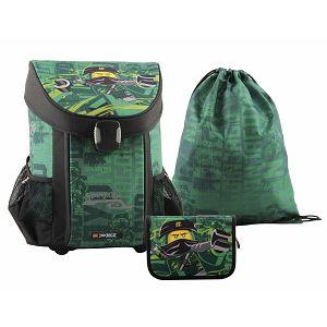 Školska torba anatomska Ninjago Energy LEGO 3u1