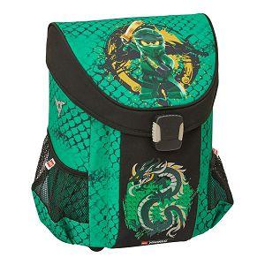Školska torba Lego anatomska Ninjago Green Easy