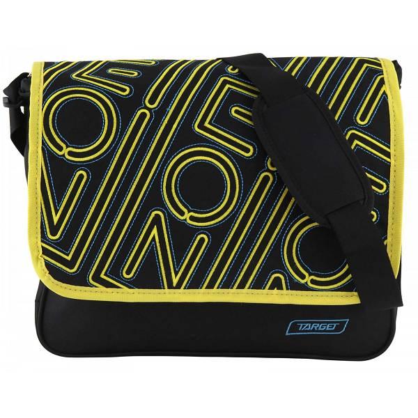 Školska torba na rame Allover Neon 17298 Target crna/žuta