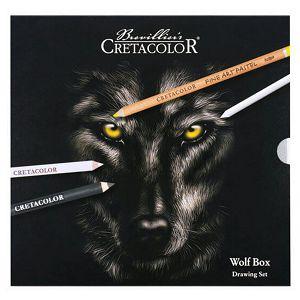 SLIKARSKI SET Cretacolor wolf box 25/1 91400-2602 286811
