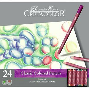 SLIKARSKI SET Drvenih boja Cretacolor karmina 24/1 270 24 270244