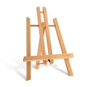 Slikarski stalak štafelaj drveni, stolni, platno visine do 22cm, HJ-13-30