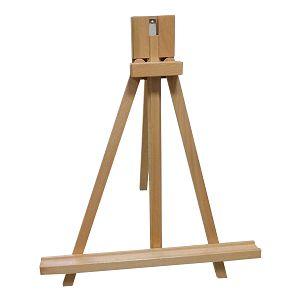 Slikarski stalak štafelaj drveni, stolni, podesivi, platno do 68cm, HJ-6