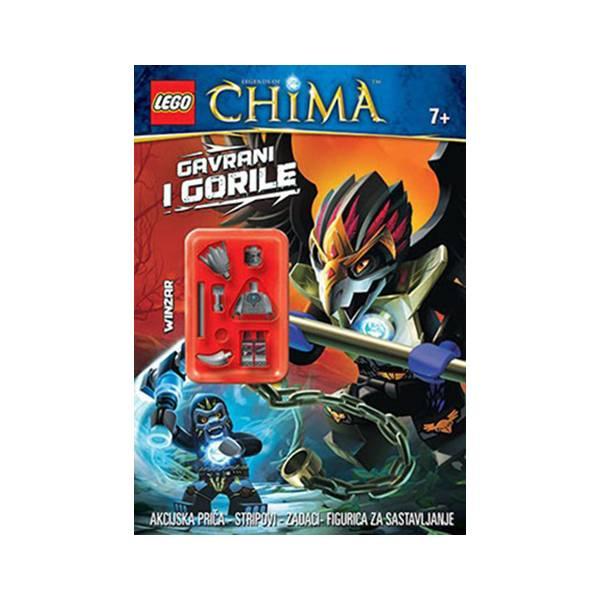 LEGO Slikovnica Chima + figurica Gavrani i gorile 915532