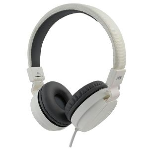 SLUŠALICE MS BEAT 2, bijele za računalo/smartphone, sa mikrofonom, overear