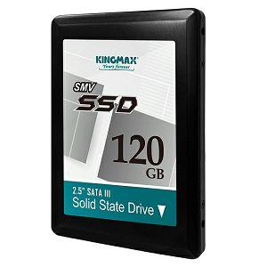 "SOLID STATE DRIVE SSD Kingmax SMV32 120GB 2,5"", smart, ecc"