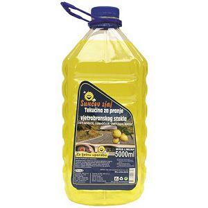 Sredstvo Tekućina za pranje stakla Sunčev sjaj 5Lit, s mirisom limuna 3820000