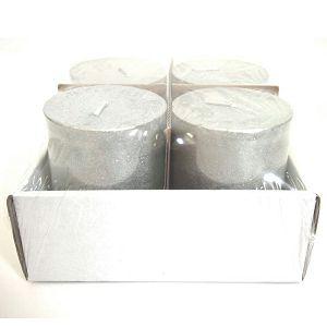 SVIJEĆA metalik, srebrna 6.8xh7.2cm 253379