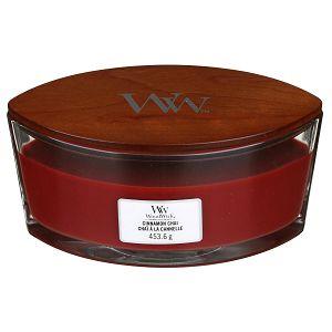 SVIJEĆA MIRISNA WoodWick Classic Elipse Cinnamon Chai 76104E (gori 50 sati)
