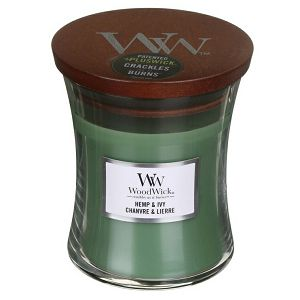 SVIJEĆA MIRISNA WoodWick Classic Mini Hemp&Ivy 164793E (gori 40 sati)