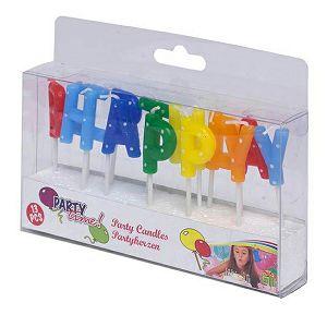 Svijeća rođendanska Happy Birthday 415291