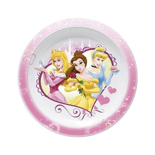 Tanjur plitki Disney Princeza Lovehart 22cm