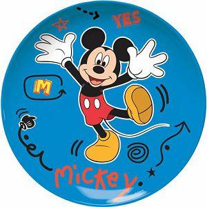 Tanjur plitki Mickey 22cm