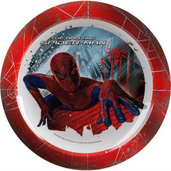 Tanjur plitki pvc Disney Spiderman fi22cm