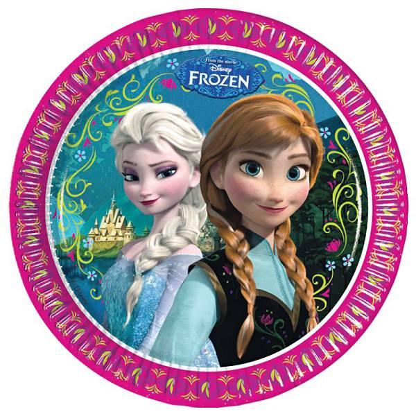 Tanjuri plitki Frozen 8/1 23cm
