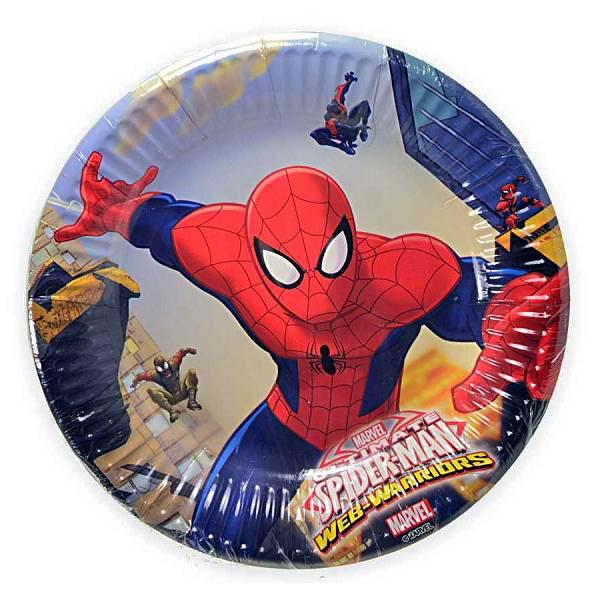 Tanjuri plitki Spiderman 8/1 20cm
