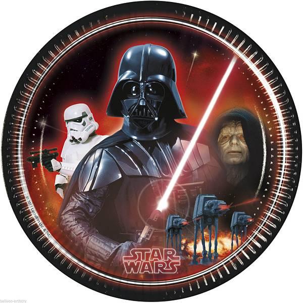Tanjuri plitki Star Wars 8/1 23cm