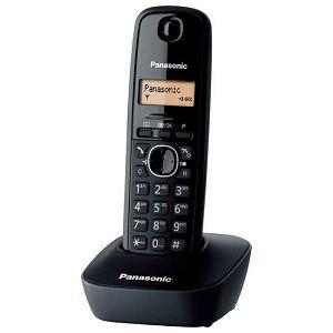 TELEFON bežični PANASONIC KX-TG 1611H/R crni