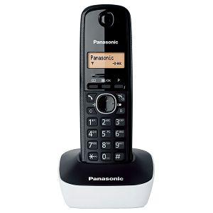 TELEFON bežični PANASONIC KX-TG 1611H/R crni/bijeli