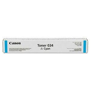 TONER CANON 034C plavi laser Original, ispis 7300 stranica