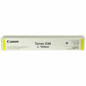 TONER CANON 034Y žuti laser Original, ispis 7300 stranica