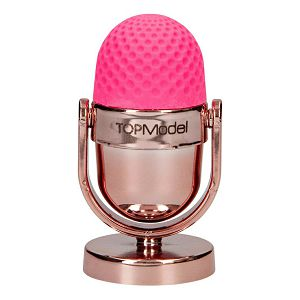 TOP MODEL Gumica sa šiljilom oblik mikrofona 8095 bakrena/roza