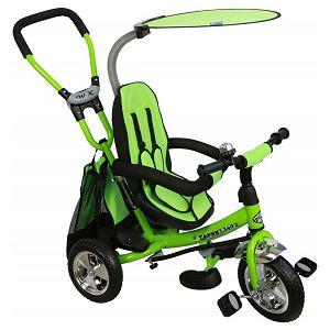 Tricikl guralica Baby mix Safari zelena
