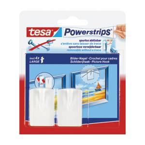 Vješalica zidna za slike 2+4trake Tesa 58031 bijela
