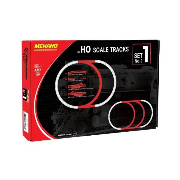 Tračnice HO br.1 Mehano F101